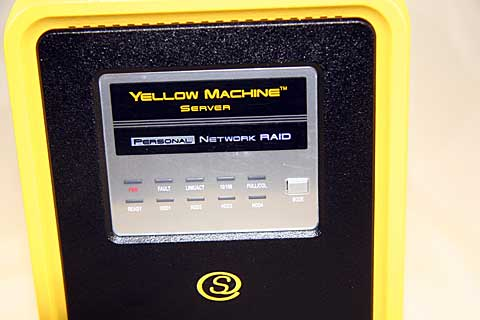 Anthology Solutions Yellow Machine front panel