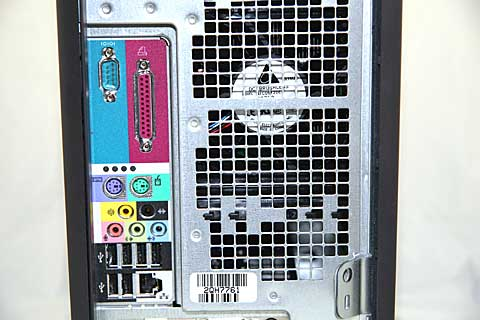 Dell Dimension 8400 Rear Ports